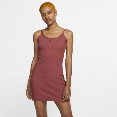 Платье из рубчатой ткани с графикой JDI Nike Sportswear