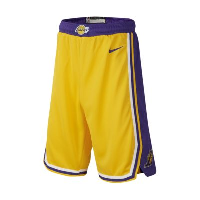 Los Angeles Lakers Nike Icon Edition Swingman Big Kids' (Boys') NBA Shorts