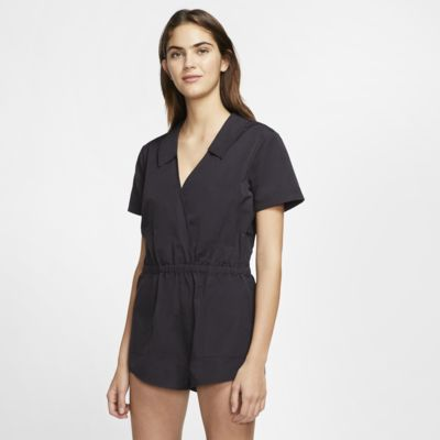 Hurley Coastal Solid Women's Short-Sleeve Romper