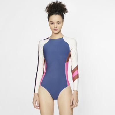 Женский костюм для серфинга с длинным рукавом Hurley Quick Dry Maritime