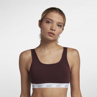 Nike Classic Soft sports-BH med middels støtte til dame