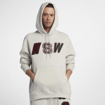 Sweat à capuche en tissu Fleece coupe ample Nike Sportswear NSW pour Homme