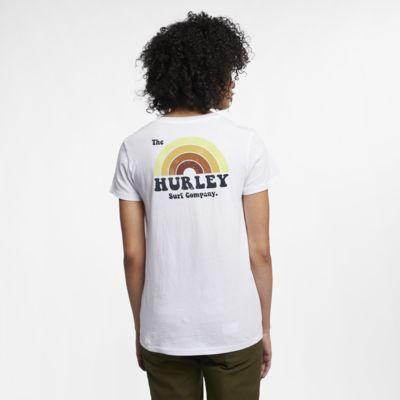 Купить Женская футболка с V-образным вырезом Hurley Surfbow Perfect