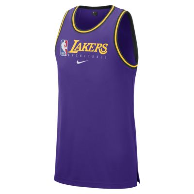 Męska koszulka bez rękawów NBA Los Angeles Lakers Nike Dri-FIT