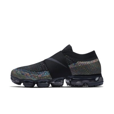 Nike WMNS Air Vapormax Flyknit Moc Luxury Multi-Color Black Anthracite Volt AA4155-003 promotion