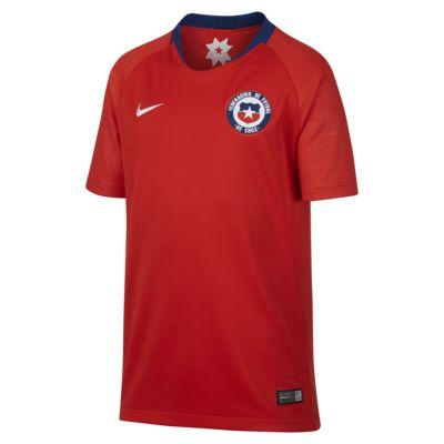 Fotbollströja 2018 Chile Stadium Home för ungdom