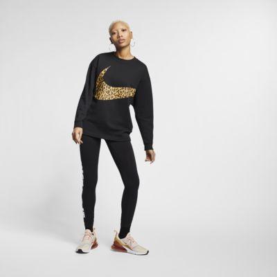Nike Sportswear Damen-Rundhalsshirt mit Tierprint