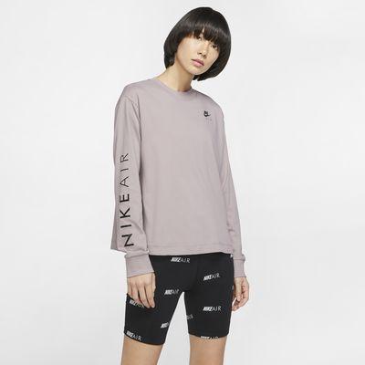 Långärmad topp Nike Air för kvinnor