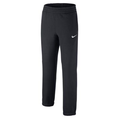Chłopięce spodnie dresowe Nike Brushed-Fleece Cuffed