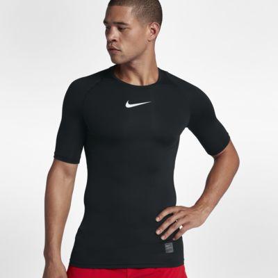 Nike Pro Kısa Kollu Erkek Antrenman Üstü