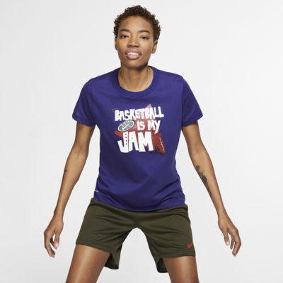 Nike Dri-FIT Basketball-T-Shirt für Damen