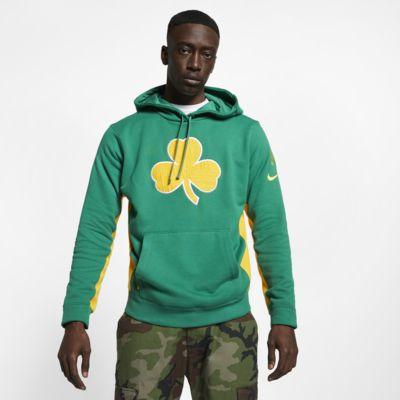 Boston Celtics Nike NBA-s kapucnis férfipulóver