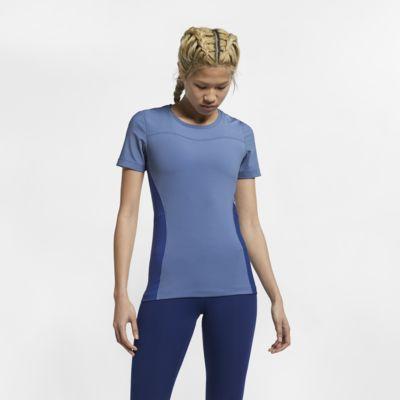 Prenda para la parte superior de manga corta para mujer Nike Pro
