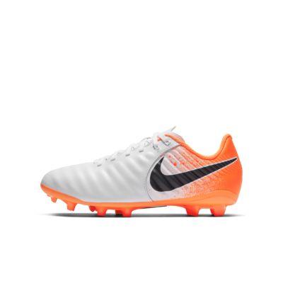Nike Jr. Legend 7 Academy FG 小/大童天然偏硬草地英式足球釘鞋