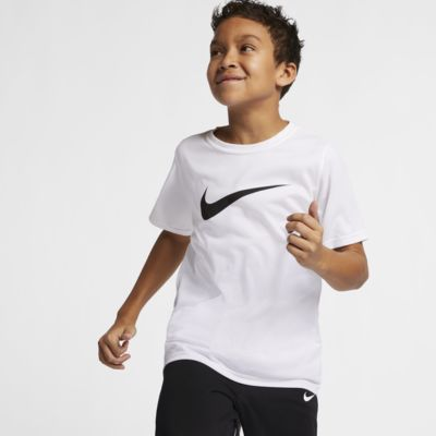 Nike Dri-FIT Big Kids' (Boys') Swoosh Training T-Shirt