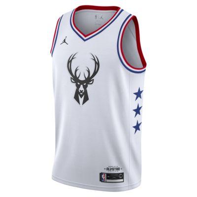 Giannis Antetokounmpo All-Star Edition Swingman Men's Jordan NBA Connected Jersey