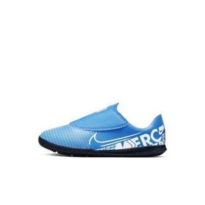 Fotbollssko för inomhusplan Nike Jr. Mercurial Vapor 13 Club IC för små barn/barn
