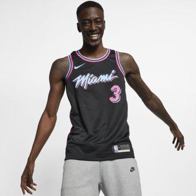 迈阿密热火队 (Dwyane Wade) City Edition Swingman Nike NBA Connected Jersey 男子球衣