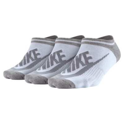 Nike Sportswear Striped No-Show 运动袜(3 双)