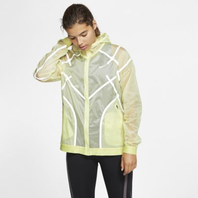 Nike női kapucnis futókabát