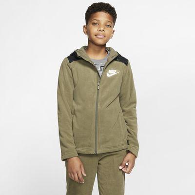 Nike Sportswear Winterized Hoodie met rits voor jongens