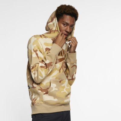 Bluza z kapturem do skateboardingu w kolorze moro Nike SB Icon