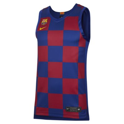 FC Barcelona Men's Replica Home Jersey