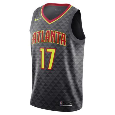 Camiseta conectada Nike NBA para hombre Dennis Schröder Icon Edition Swingman (Atlanta Hawks)