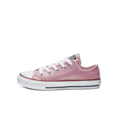 Converse Chuck Taylor All Star Sparkle Low Top Big Kids' Shoe