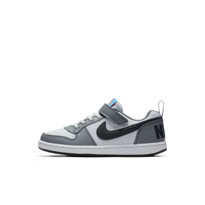 Calzado para niños talla pequeña NikeCourt Borough Low