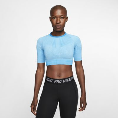 Женская трикотажная футболка для тренинга Nike City Ready