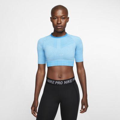 Top da training in maglia Nike City Ready - Donna