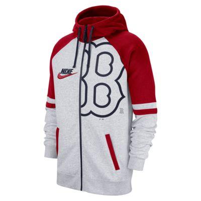 Nike (MLB Red Sox) Men's Full-Zip Hoodie