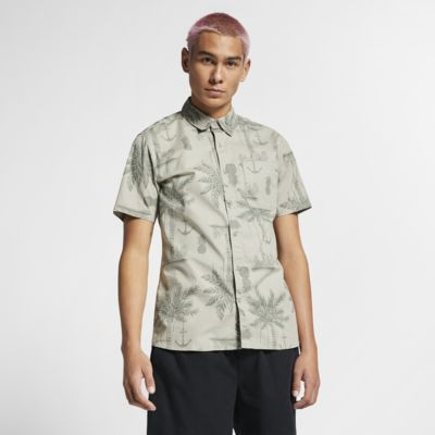 Мужская рубашка с коротким рукавом Hurley Asylum Stretch