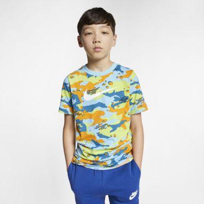 Nike Sportswear Big Kids' Camo T-Shirt