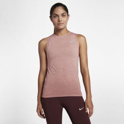 Camiseta de tirantes de running para mujer Nike Medalist