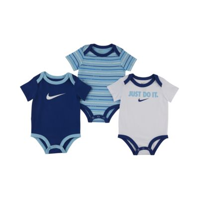 Nike-body til babyer (0-9 M) (pakke med 3 stk.)