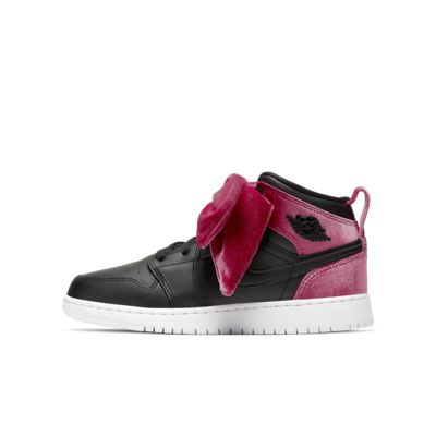 Air Jordan 1 Mid Bow Big Kids' Shoe