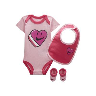 Nike Sportswear Pack de body, gorro y botines - Bebé