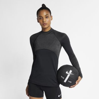 Nike Pro Warm Sparkle hosszú ujjú női felső