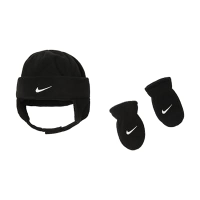 Nike Baby Hat and Mittens Box Set