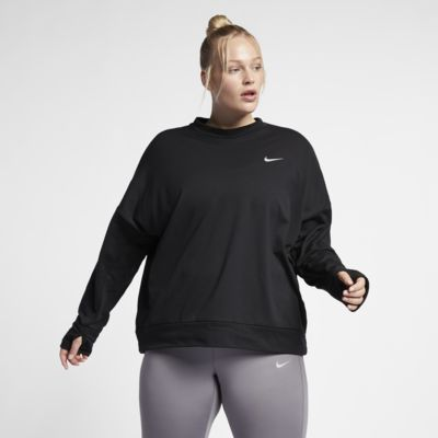 Nike Sphere Element Women's Long-Sleeve Running Top (Plus Size)