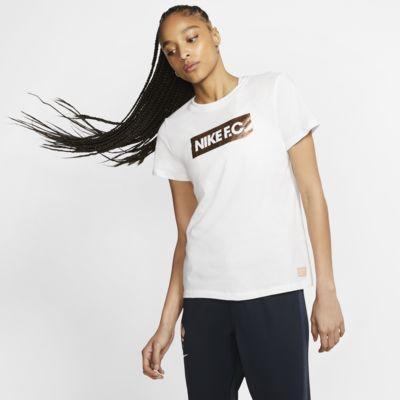 Nike F.C-fodbold-T-shirt til kvinder