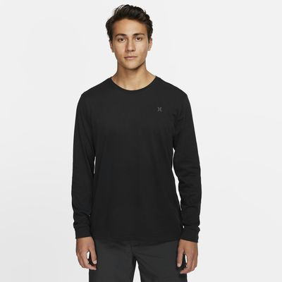 Hurley Dri-FIT Icon Reflective Men's Premium Fit Long-Sleeve T-Shirt