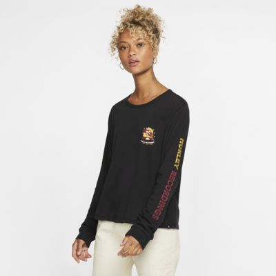 Hurley Record Palms Perfect Women's Long-Sleeve T-Shirt