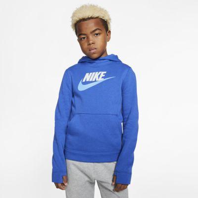 Nike Sportswear kapucnis polárpulóver nagyobb gyerekeknek