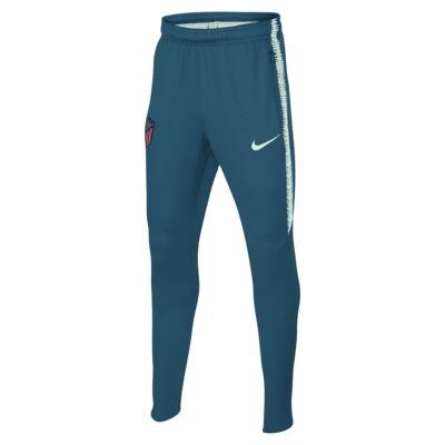 Футбольные брюки для школьников Atletico de Madrid Dri-FIT Squad