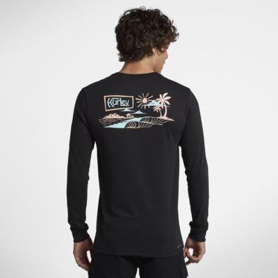ハーレー Dri-FIT アイランド スタイル メンズ ロングスリーブ Tシャツ