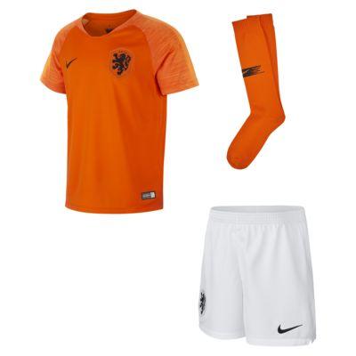 Equipamento de futebol 2018/19 Netherlands Stadium Home para criança