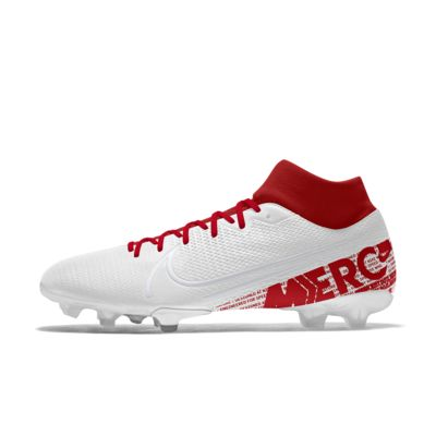 Scarpa da calcio per terreni duri personalizzabile Nike Mercurial Superfly 7 Academy FG By You